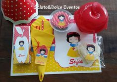 Kit Branca de Neve by Salato&Dolce Eventos. ...www.salatoedolceeventos.com