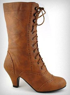 #Whiskey Mill Victorian Boots |