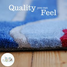 Kids rugs that are handcrafted to be thick, plush and durable for your sweet little love bug!