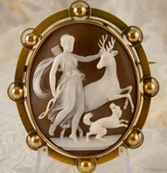 Cameo carving is an old art. The first documented cameo carved was as far back as 332 BC. Cameos are defined by contrast. They almost always feature a raised relief image (the positive) combined with intaglio which is the negative image. Throughout...