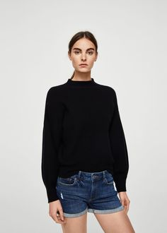 Shorts for Woman 2020 Mango, New Model, Denim Skirt, Latest Trends, Turtle Neck, Skirts, Sweaters, Women, Fashion