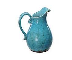 Jarra de cerámica Toscana – azul