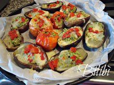 In cucina con Bilibì: Verdure dell'orto ripiene con tofu.