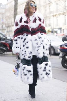 Pin for Later: See the Best Street Style From All of Paris Fashion Week Day 3 Anna Dello Russo