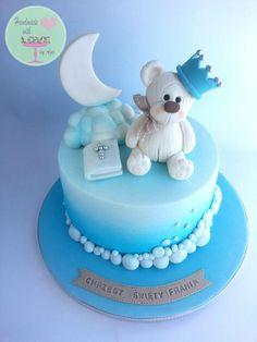 Christening cake:) - Cake by Aga Leśniak