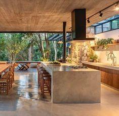 Modern Kitchen Design, Modern House Design, Modern Interior Design, Interior Architecture, Home Deco, Dream Home Design, Küchen Design, Luxury Homes, House Styles