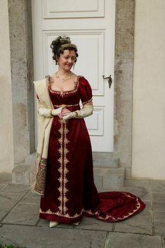 Resultado de imagen de regency dress