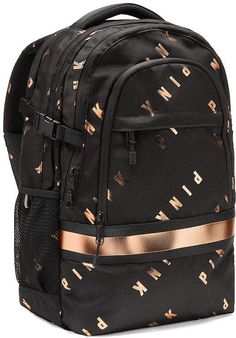 Shop backpacks for school at PINK to find the perfect bag that can handle it all! Shop the selection of cute backpacks & bookbags today. Cute Backpacks For School, Trendy Backpacks, Girl Backpacks, Leather Backpacks, Leather Bags, Victoria Secret Backpack, Victoria Secret Pink, Pink Bookbag, Cheap Purses