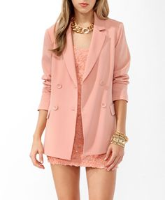 Longline Double Breasted Blazer  $32.80