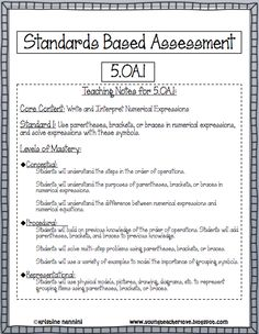 YoungTeacherLove: Math Data Binders Part 2- The Assessment!!