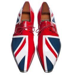 Union Jack Shoe Maison Corthay