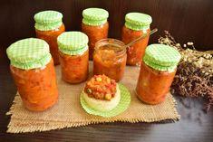 Zacuscă mexicană Hot Sauce Bottles, Cantaloupe, Cooking Recipes, Jar, Canning, Fruit, Food, Mexican, Sweet