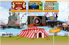 Virtual Carnival - Lost of fun games and networking! Wish you all could take a break and play with us :) Repin this if you love playing fun games, who doesn't??
