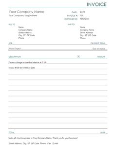 Proforma Invoice Format That Helps Selling Across Boards - Charge invoice sample