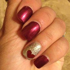 Valentines day nail art inspriation 01