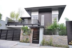 Brand New Modern Glass House For Sale in Paranaque City, Metro Manila, Philippines Modern Glass House, Modern House Design, Modern Zen House, Modern Exterior, Exterior Design, Interior Modern, Modern House Philippines, Manila Philippines, Gate Designs Modern