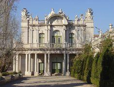 """Palácio de Queluz"".  Pavilhão Robillon'. # Queluz / Sintra. Portugal."