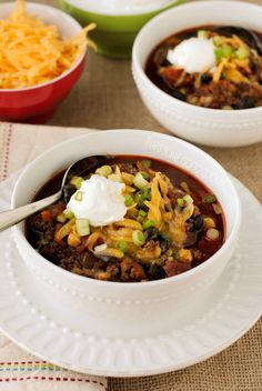 Taco Soup   that's some good cookin'