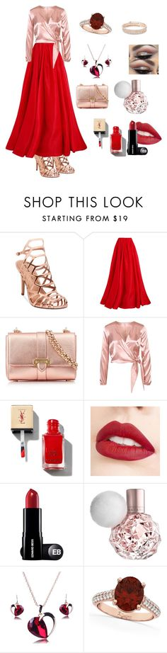 """Untitled #43"" by azra-snagic ❤ liked on Polyvore featuring Madden Girl, Reem Acra, Aspinal of London, Jouer, Allurez and Anne Klein"