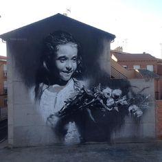 L'invidia degli dei #gomez #gomezpainter #torrijos #spain #streetart #contempora