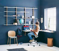 Homeplaza - Pfiffiger Drehstuhl sorgt im Kinderzimmer für mehr Bewegung und Kreativität - Zum Schulstart mehr Lernspaß!