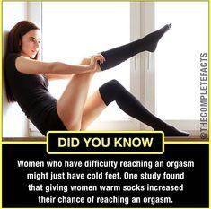 Do socks help you orgasm?