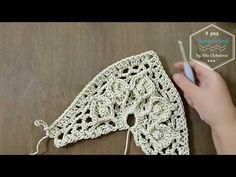 Алла Чикалова - YouTube Crochet Mat, Crochet Eyes, Crochet Potholders, Crochet Mandala, Freeform Crochet, Crochet Shawl, Crochet Doilies, Crochet Jacket Pattern, Knitting Patterns