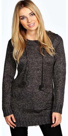 boohoo Ruby Hooded Tunic Jumper - grey azz13429 Go back to nature with your knits this season and add animal motifs to your must-haves. When youre not wrapping up in woodland warmers, nod to chunky Nordic knits and polo neck jumpers in peppered mar http://www.comparestoreprices.co.uk/womens-clothes/boohoo-ruby-hooded-tunic-jumper--grey-azz13429.asp