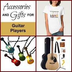 Accessories and Gifts for Guitar Players
