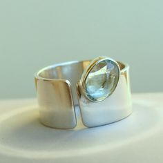 Spirits Of The Sea Sterling Silver Ring with by meltemsem