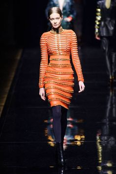 Balmain Fall 2014 Ready-to-Wear Runway - Balmain Ready-to-Wear Collection