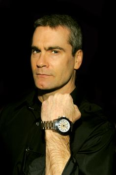 Henry Rollins с часами Invicta Magnificent Beasts, Henry Rollins, Gorgeous Men, Wood Watch, Watches, Tumblr, God, Wooden Clock, Dios