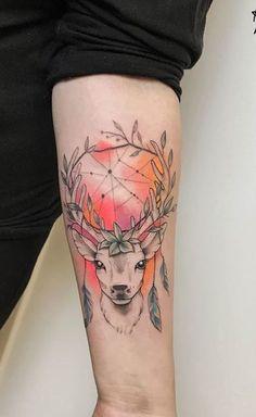 Fawn Tattoo, Deer Head Tattoo, Dove Tattoos, Body Art Tattoos, Tatoos, See Tattoo, Tattoo You, Piercing Tattoo, Piercings