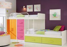 Cameretta colorata e divertente per bambini n.25
