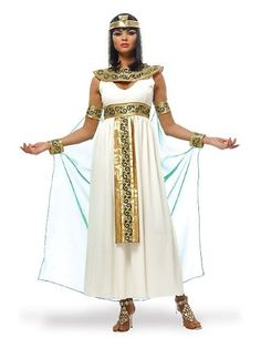 Royal Cleopatra Adult Costume - http://www.specialdaysgift.com/royal-cleopatra-adult-costume/