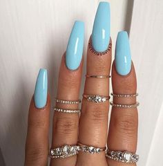 What manicure for what kind of nails? - My Nails Nail Art Designs, Ombre Nail Designs, Short Nail Designs, Nail Polish Designs, Acrylic Nail Designs, Nails Design, Gel Polish, Cute Nail Art, Cute Nails