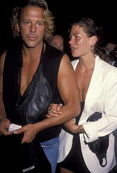 Mickey Rourke and Carre Otis Mickey Rourke, Celebrities Then And Now, Cinema, Hollywood, Famous Couples, Vintage Mickey, Gym Workouts, Supermodels, Actors & Actresses