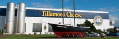 Cheese Factory - Tillamook Great place to go for yummy ice cream and free cheese samples.  You can also watch them package the cheese and see the cheese making process.