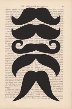 different style mustaches