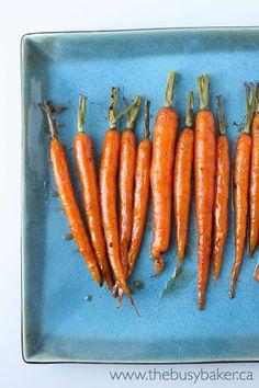 Roasted Carrots with Honey Balsamic Glaze Recipe on Yummly. @yummly #recipe