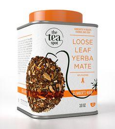 The Tea Spot by Chez Valois - Brand Identity & Packaging Plateform - item Tea Packaging, Brand Packaging, Premium Tea, Yerba Mate, Packaging Design Inspiration, High Tea, Tea Time, Branding Design, Bakery