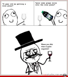 """Page 7 of 4427 - Funny memes that """"GET IT"""" and want you to too. Get the latest funniest memes and keep up what is going on in the meme-o-sphere. Funny Meme Comics, Funny Memes, Feel Like A Sir, Wine Meme, Rage Comics, Fun Comics, You Funny, Funny Stuff, Funny Things"""