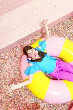 A Peek Inside the Museum of Ice Cream: Los Angeles!   studiodiy.com