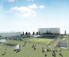 Competition design for a new Elementary School in Siheung city, South Korea #playground Daniel Valle Architects