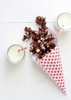 Five Fancy Ways to Eat Popcorn at your next party! #happy_birthday #celebration #celebrate
