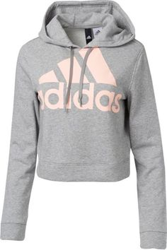 70b0c58a6ce21f adidas Women s Cropped French Terry Hoodie