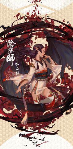 ArtStation - 陰陽師 吸血姬, sairen J.