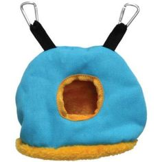 Small Blue Snuggle Sack for Birds by Prevue Pet 1167
