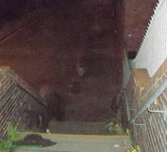 For those who have emailed me asking where they could view the photograph of the Ghost captured ascending the steps near to Bootle/Liverpool...