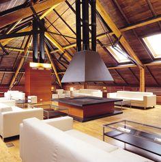 THERMOCHIP® TAH, el panel sándwich con friso de abeto   #panel #madera #deco #interior #wood #architecture